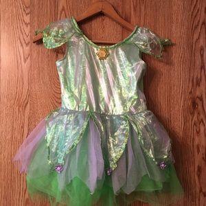 Disney Original Princess Dress Costume Size 7/8 M